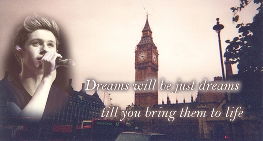 Dreams will be just dreams till you bring them to life