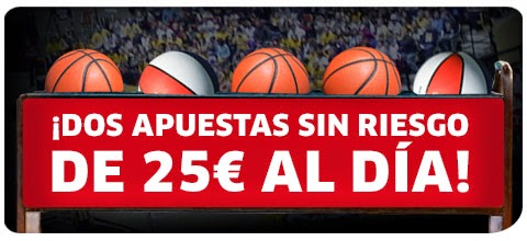 marca apuestas bono 25 euros Mundobasket sin riesgo