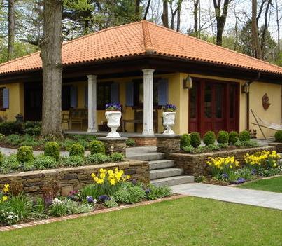 Fotos de jardin jardin de casas for Estilos de jardines para casas