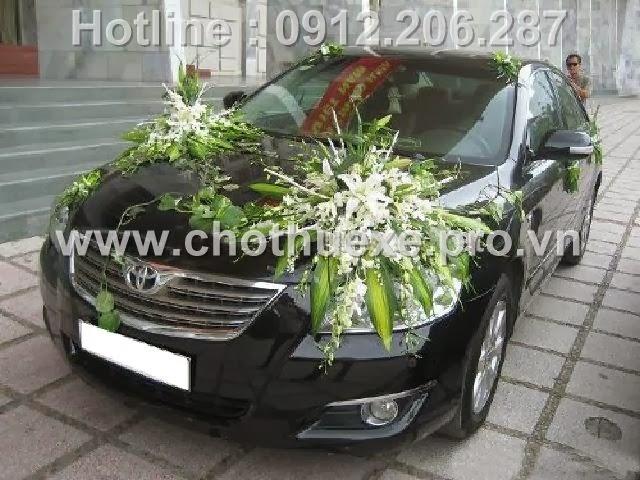 Mẫu hoa xe cưới 1,1 tr độc đáo XH 058 tại Đức Vinh