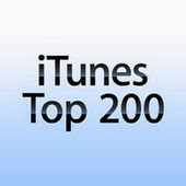 iTunes download chart for Top 10 20 40 50 100 200 country music songs