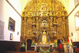 Luanco, iglesia de Santa María, retablo mayor