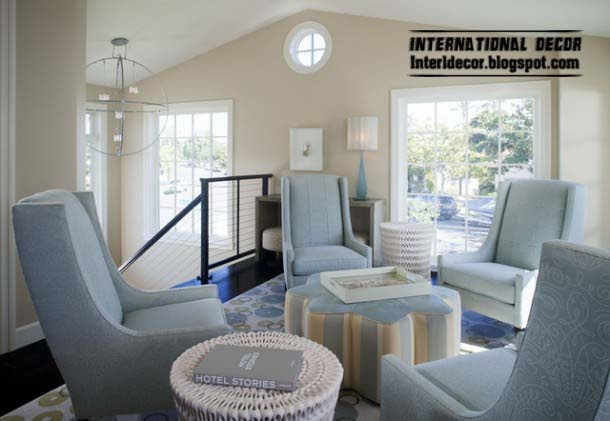 ottoman and banquette and chairs set