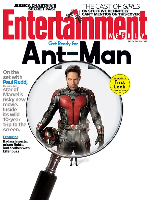 Ant-Man First Look: Paul Rudd as Ant-Man
