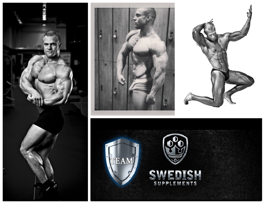 JJ Johansson Team Swedish Supplements