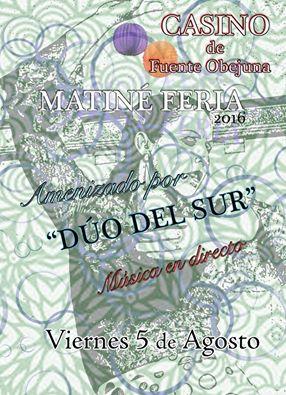 Matiné Feria 2016