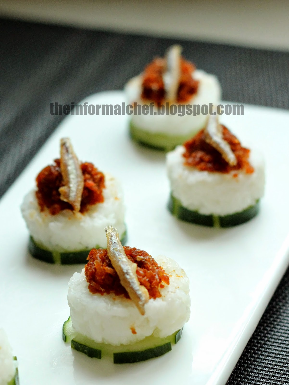 The informal chef asian inspired canape for Japanese canape