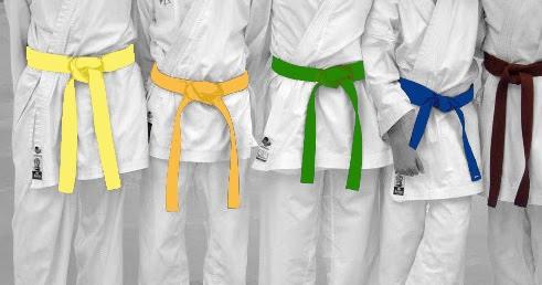 BJJ Taekwondo Cinturones Karate Vader Sports Karate Color Cinturones Artes Marciales Cintas de Clasificar algod/ón Judo