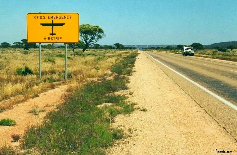 Eyre Highway أطول طريق سريع بشكل مستقيم في العالم