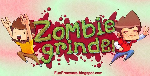 Zombie Grinder - Free Cooperative Multiplayer Arcade Game