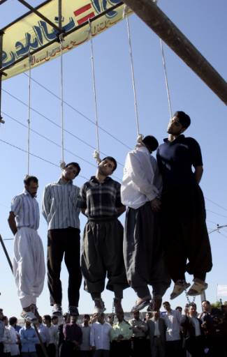 from Chris gay hanged iran teen