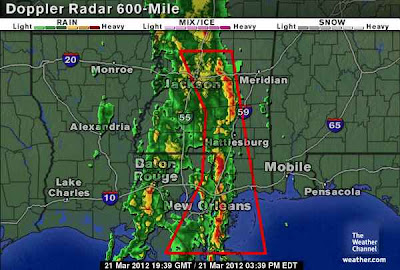 >Serious Flash Flooding Strikes Louisiana Up To Missouri, Epic March Heat Continues Through Eastern North America, Mexico Asseses Damage Following Earthquake