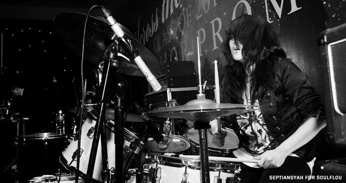 Febby Tan, Drumer Wanita Dari Indonesia