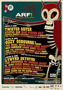 Horarios y escenarios del Azkena Rock Festival
