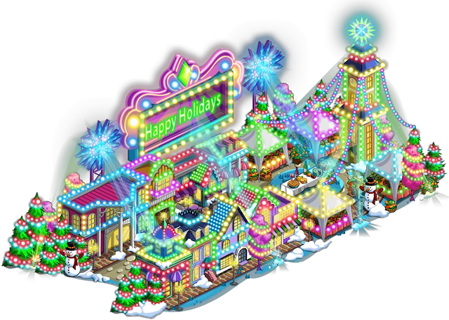 Farmville The Holly Bright City