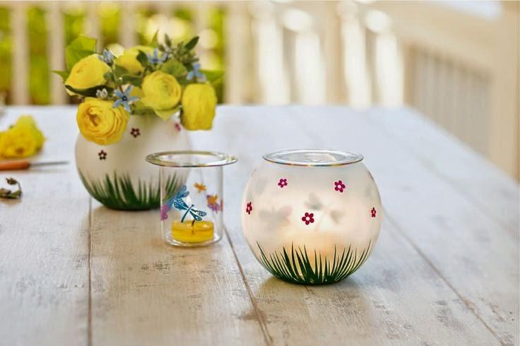fluttering friends tealight holder partylite