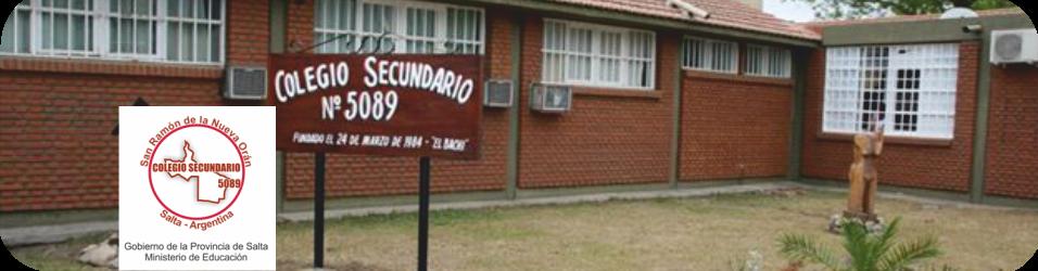 Colegio Secundario 5089