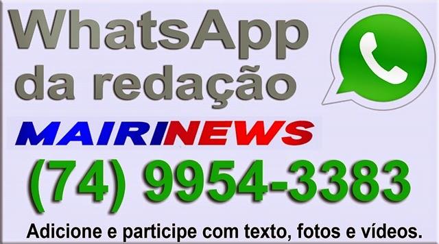 WhatsApp da Redação