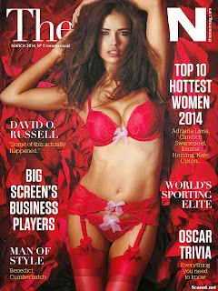 The Man Hottest Babe of The Year Issue March 2014 Sexy Bikini Lingerie Hot Wet Girls