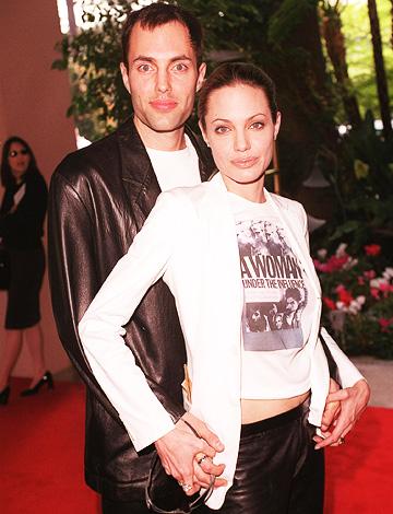 Celebrity Scandals: Angelina Jolie Kissing Her Brother