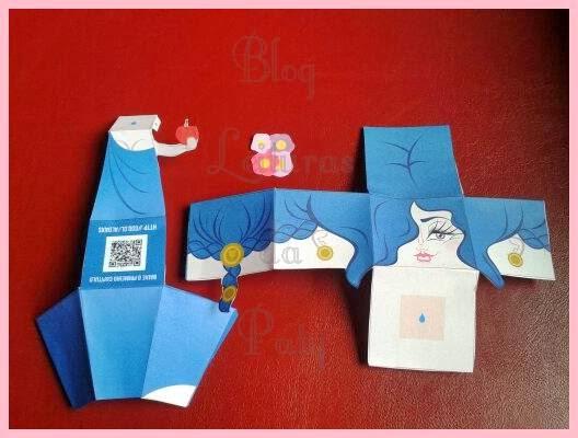 Paper Toy Branca de Neve - Editora Única - Blog Leituras da Paty