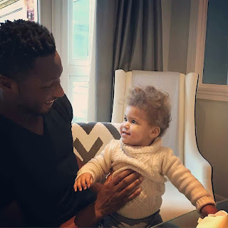 Footballer Mikel Obi & his adorable daughter 💕. Getting ageing in new picture