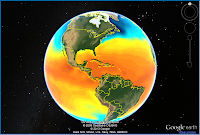 North and South America Temperatures
