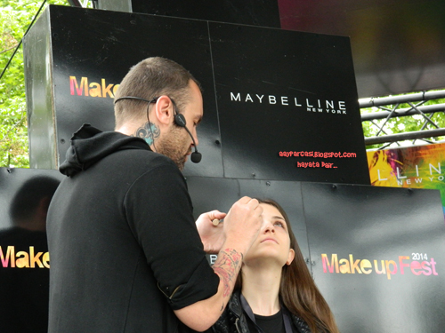 maybelline makeup fest 2014