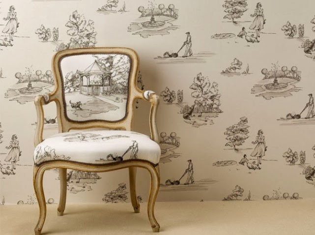 torino style passione toile de jouy. Black Bedroom Furniture Sets. Home Design Ideas