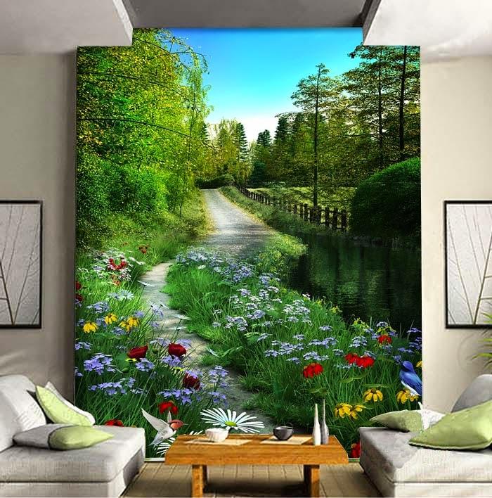 Lukis dinding mural painting jasa lukis dinding 3d jasa for Mural untuk cafe