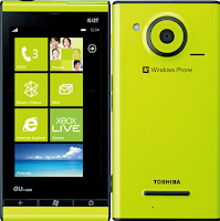Fujitsu IS12T Windows Mobile 7 Phone Mango, Equipped Earthquake Detector Facility