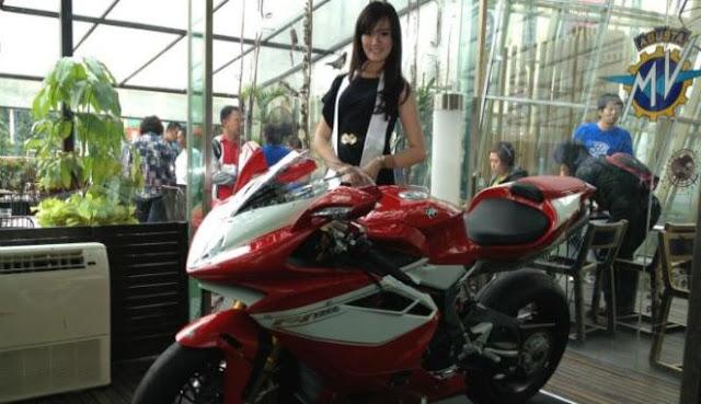 Motor Paling Cantik Dunia, Dirakit di Bekasi