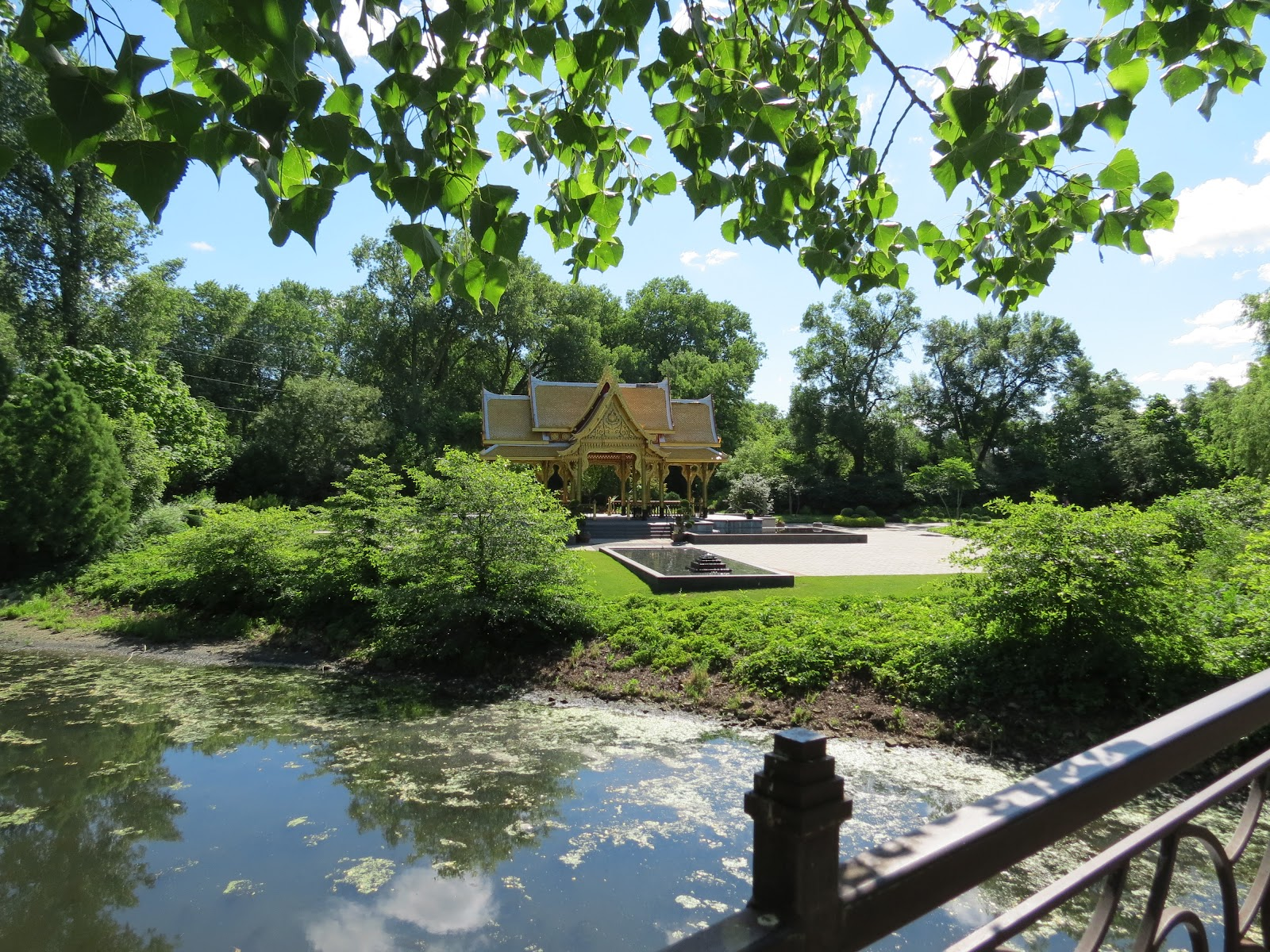 Our nature the thai pavilion for Olbrich botanical gardens hours