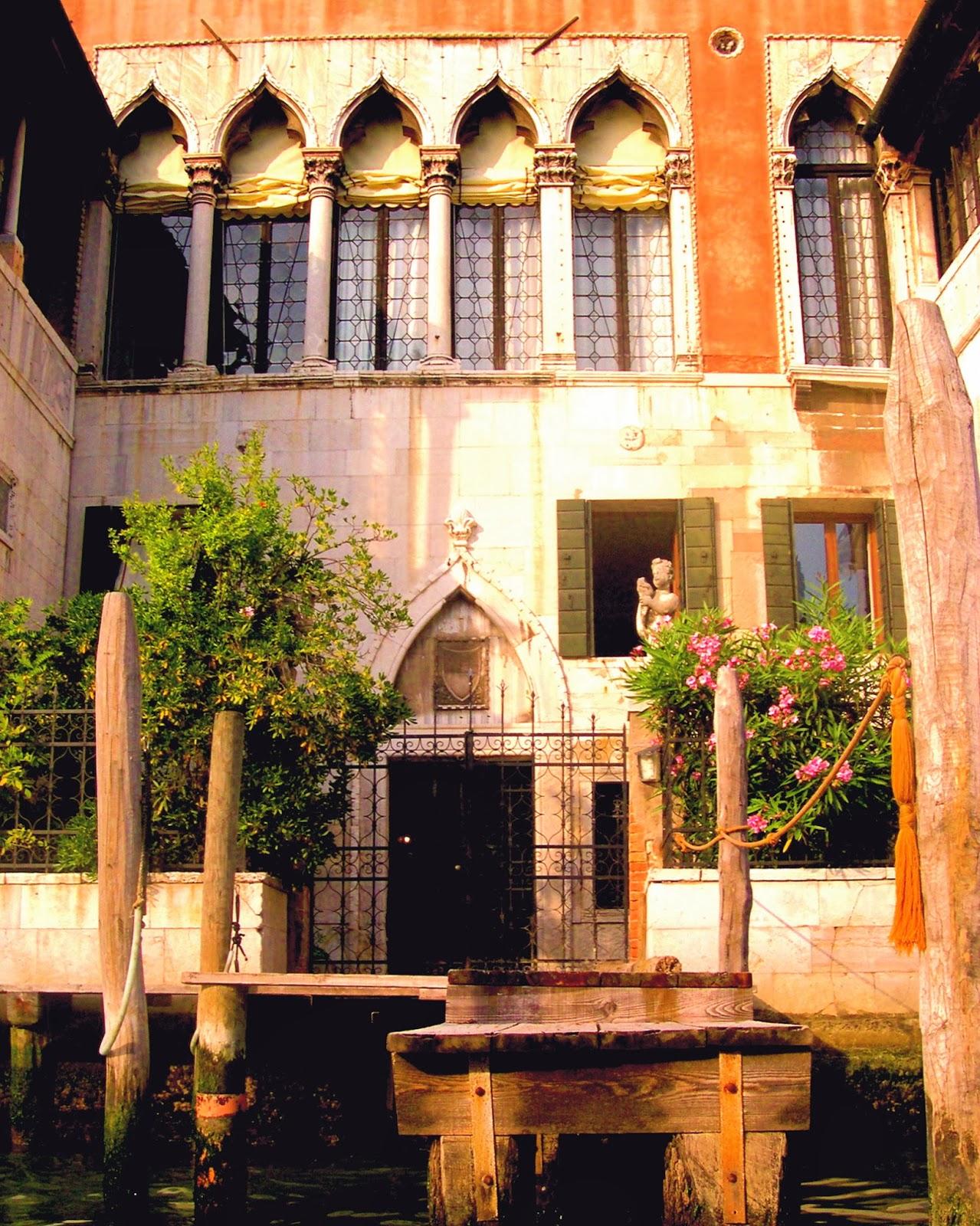 Venice, Italy; European Home Facades