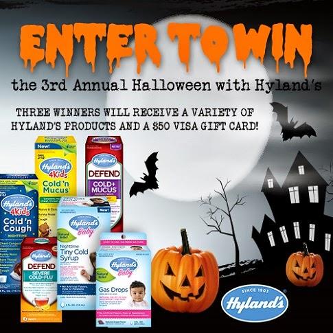 hyland's halloween contest banner