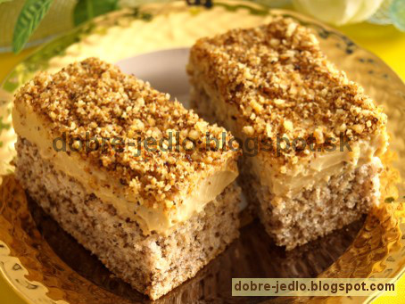 Orechovo-karamelový zákusok - recepty