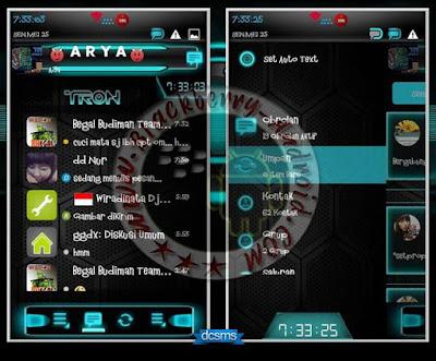 BBM Mod Droid Chat Warna Biru v2.8.0.21 Apk