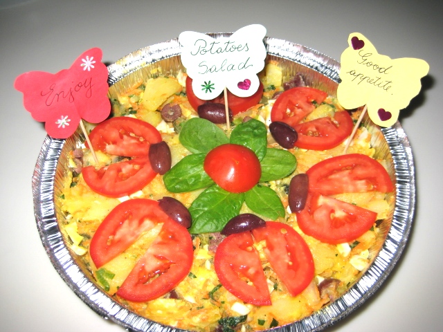 Gallery for easy salad decoration - Salad decoration for kids ...