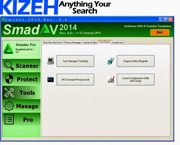 Apa sebenarnya smadav antivirus itu dan desktop smadav