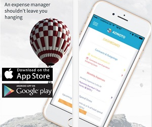 Finance App of the Month - Adnoto Expense Manager