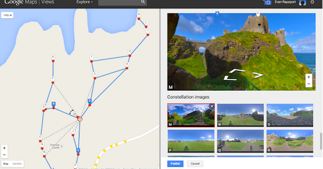 Google Now Allows you to Create your Own Street View Maps