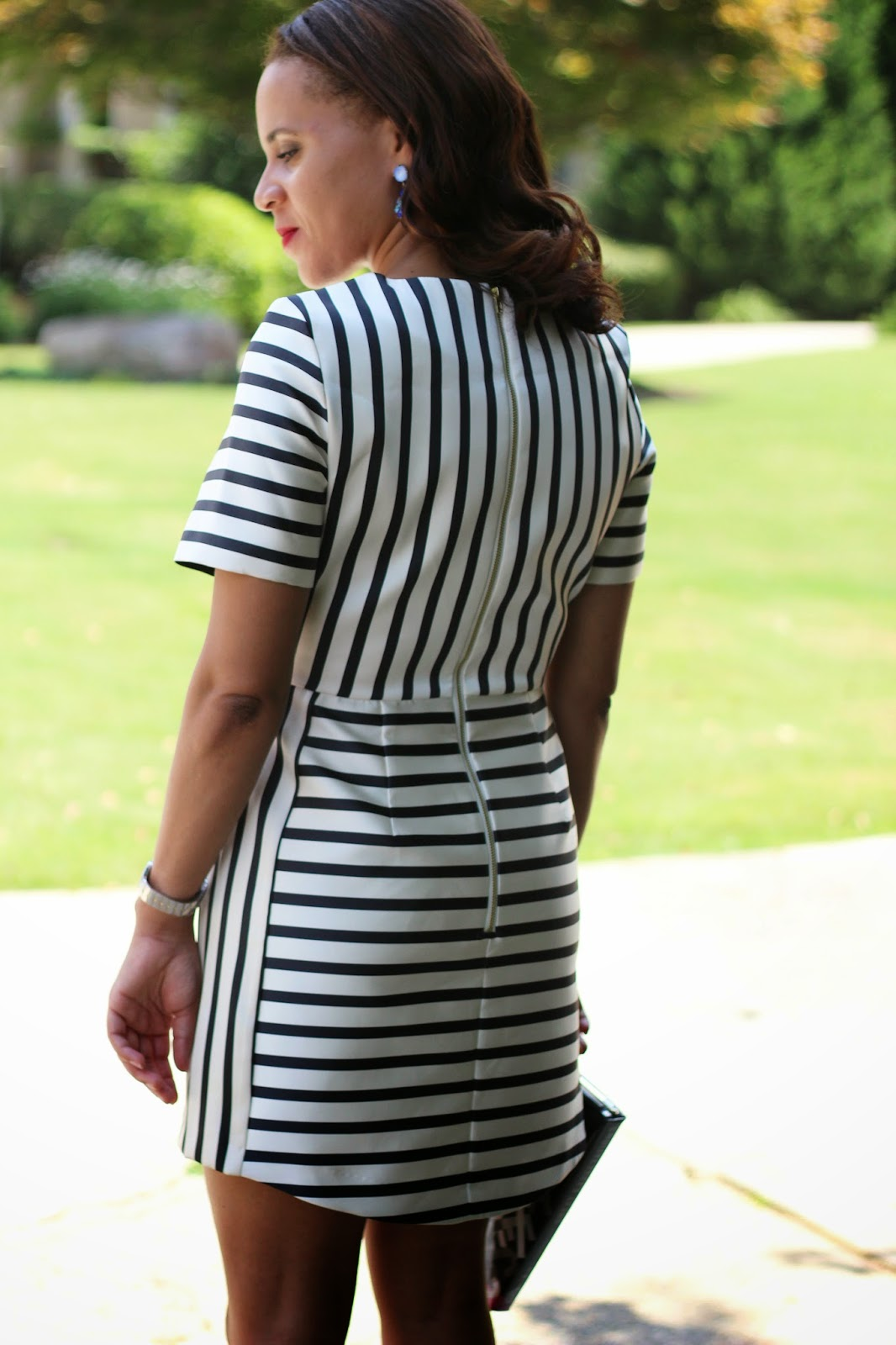 Stripe-dress