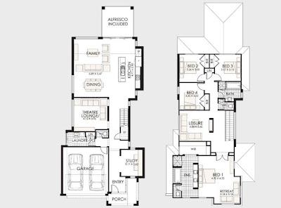 Planos de casas de dos pisos construye hogar - Distribucion piso 90 metros ...