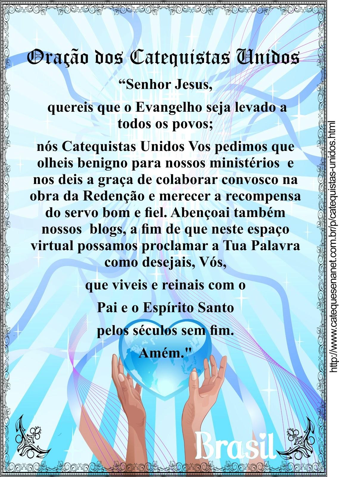 Oração dos Catequistas Unidos