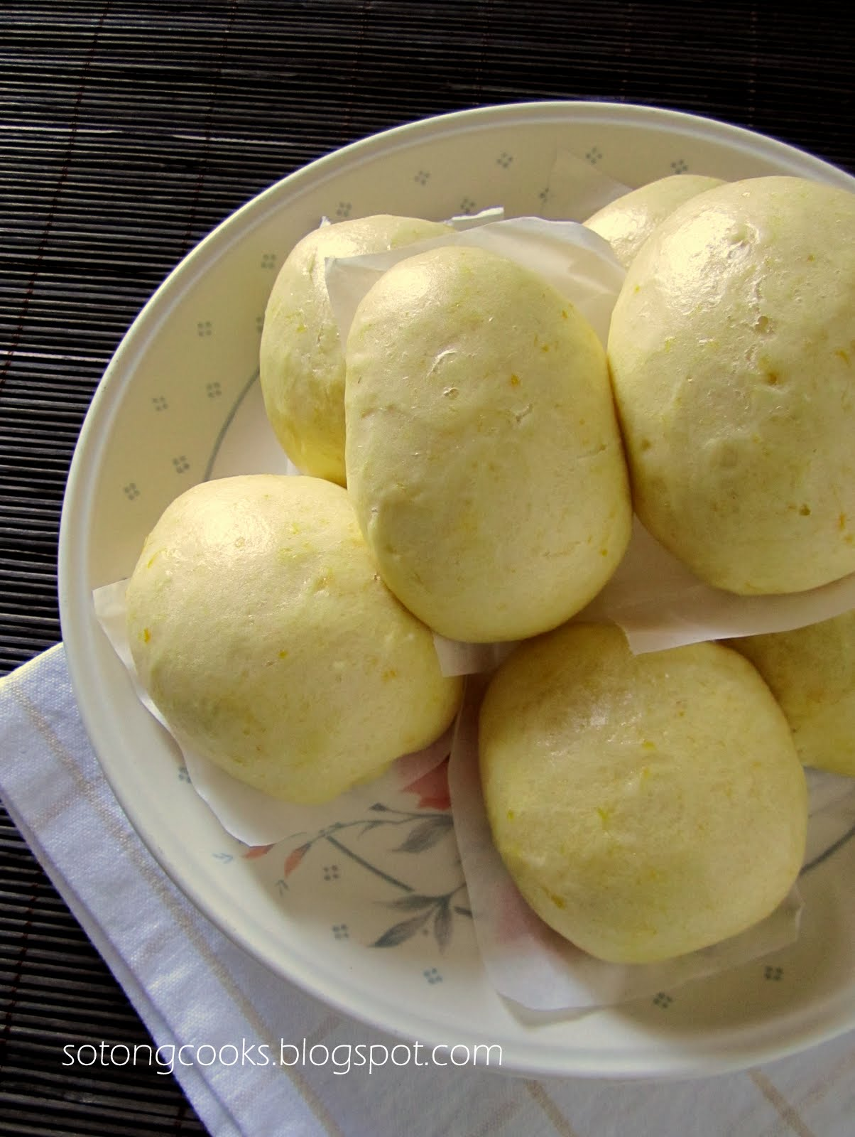 Japanese Steamed Egg Buns (Mushi Pan) Recipe — Dishmaps