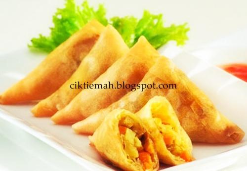 Resepi masakan Kuih Samosa yang sedap dan mudah.
