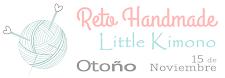Reto 'Handmade' de Little Kimono hasta el 15 de noviembre