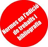 Normes en l'edició de treballs i bibliografia