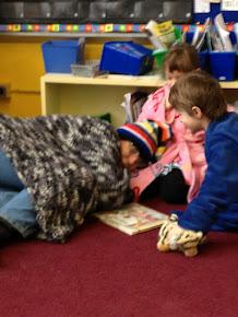 Mrs. Fry was sooo cozy!