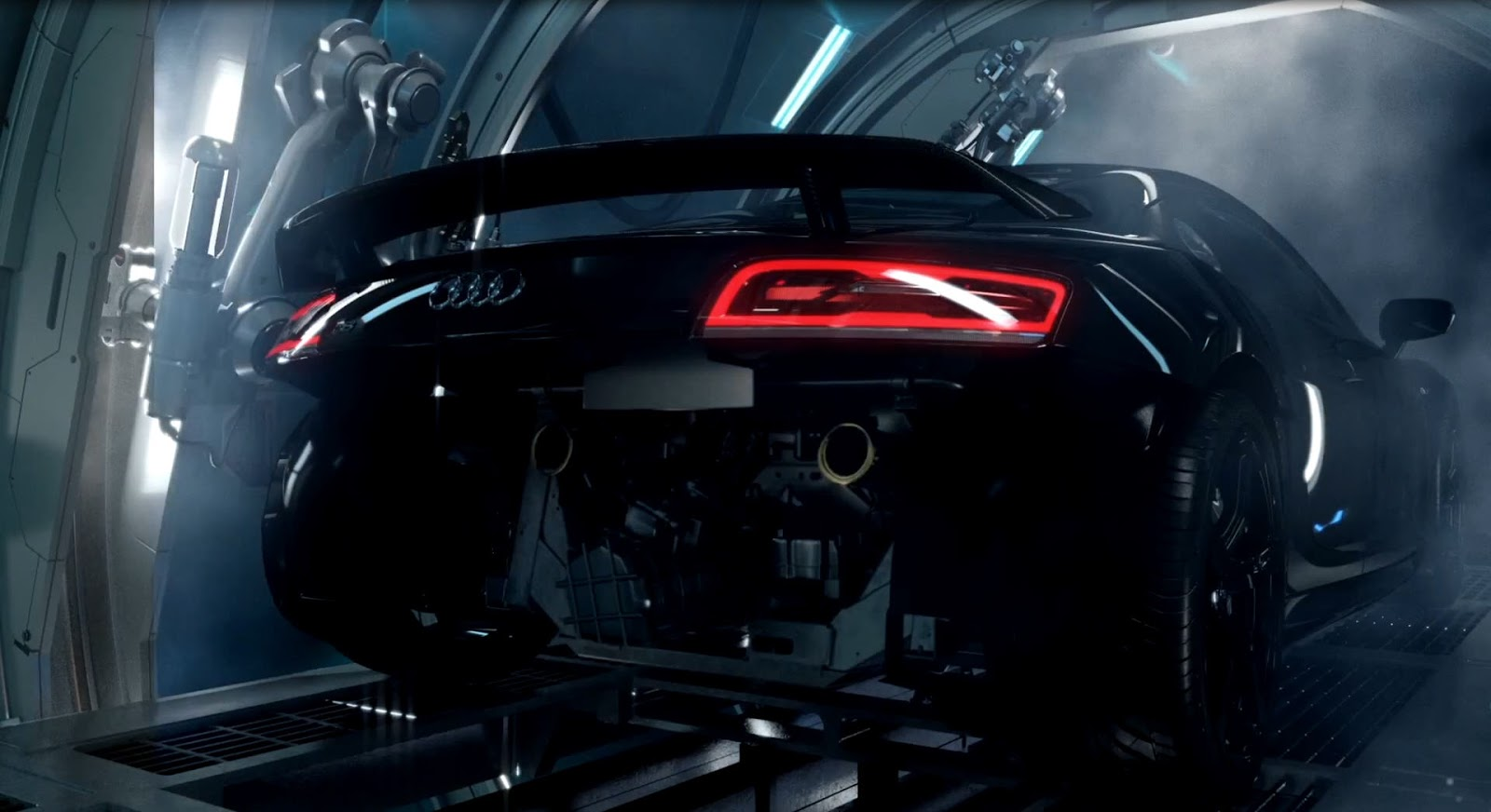 """""""Audi Birth"""" Making of by The Mill 